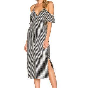 T Alexander Wang stripe silk Flowy dress sexy sz 2